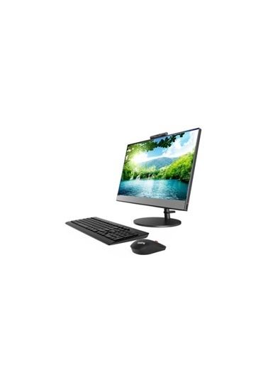 "Lenovo 10US0111TX V530 I3-9100T 4GB 128GB SSD 21.5"" FullHD FreeDOS All in One Bilgisayar Renkli"